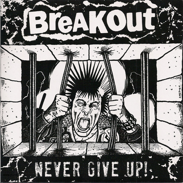 BREAKOUT - Never Give Up  EP