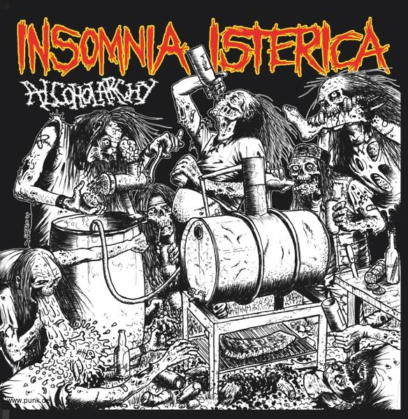 INSOMNIA ISTERICA - Alcoholarchy  EP